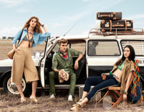 C.K. TANGS Spring Campaign 2016
