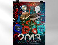 Social Calendar 2013