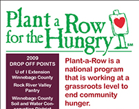 Plant A Row For the Hungry - Various Items