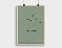 My Girl Movie Poster Re-Design