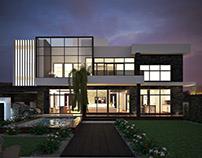 Modern Residence - Design & Visualization