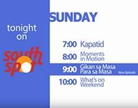 SouthSpot TV Program Schedule