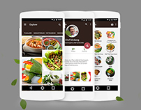 South East Asian Food App