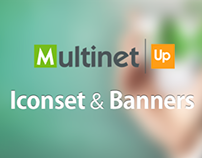 Multinet Iconset & Banners