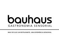 Sinalização + Convite [Bauhaus Gastronomia Sensorial]