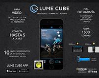 LUME CUBE Publicidad