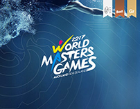 World Masters Games Identity