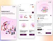 Top Online Learning App UI/UX Designs in 2020