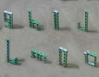 Rubik's Snake Typeface