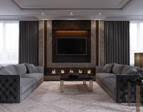 American style livingroom