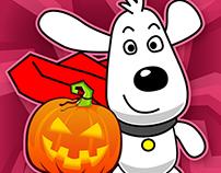 Flappy Halloween Game UI Design
