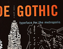 Trade Gothic Typographic Poster