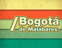 Bogotá de malabares.