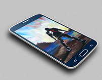 Samsung Galaxy S6 Mock-Up