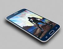 Samsung Galaxy S6 Mock-Up