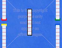 Fencing Scrapbook Paper