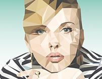 Poster Scarlett Johansson Home
