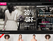 Beautiful Shop - PSD
