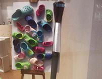 Painting Crocs