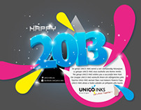 We wish you a happy and prosperous 2013