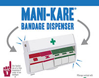 Mani-Kare® Dispenser Infographic Flyer