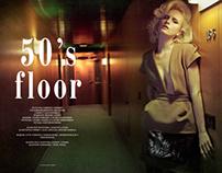 50's floor   L'Officiel