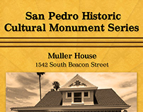 San Pedro Historic Cultural Monument Posters