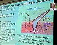 Vertical Mattress Suturing Demo-Dr Sanjoy Sanyal