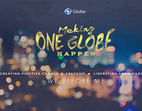 Globe Telecom - Making One Globe Happen Cover