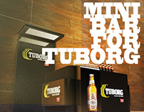 mini bar for tuborg