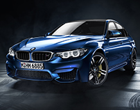 BMW M3 -CGI Photography