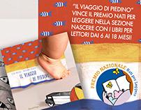 Il viaggio di Piedino - children's book