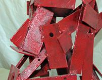 """Metal sculptures - """"Dante"""""""