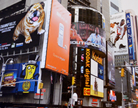 Times Square Billboard Eukanuba National Championship