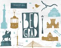 Souvenirs collection - Portrait of Belgrade