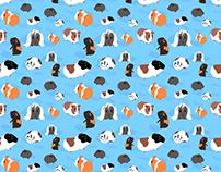 Piggie Party Fabric
