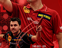 Timo Boll Photoshop Art