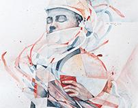 Awakening. Watercolor, 30x35cm, 2016