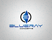 BlueRay Concepts Logo Design