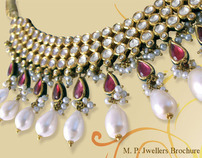 Brochure Design - M.P Jewellers