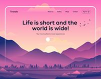 Travelo UI Animation
