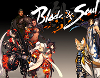 BLADE AND SOUL NCSOFT MERCH STORE SHIRT COMPS