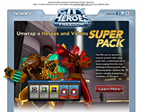 DIGITAL - CITY OF HEROES EMAIL MARKETING PIECES