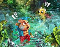 ASVA The Monkey (IOS Game)