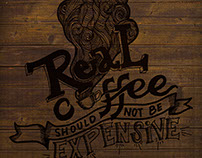 Real Coffee Should Not Be Expensive!