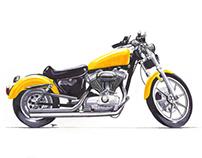 Harley-Davidson Marker Rendering