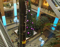 Telenor interactive christmas tree