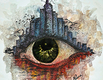 The Eye, Water color on paper