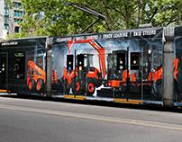 Kubota Tram Wrap