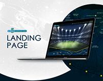 Sports Website Mockup